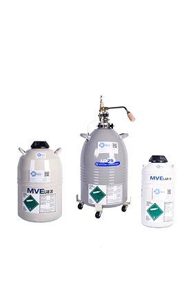 Liquid Nitrogen Storage Dewars